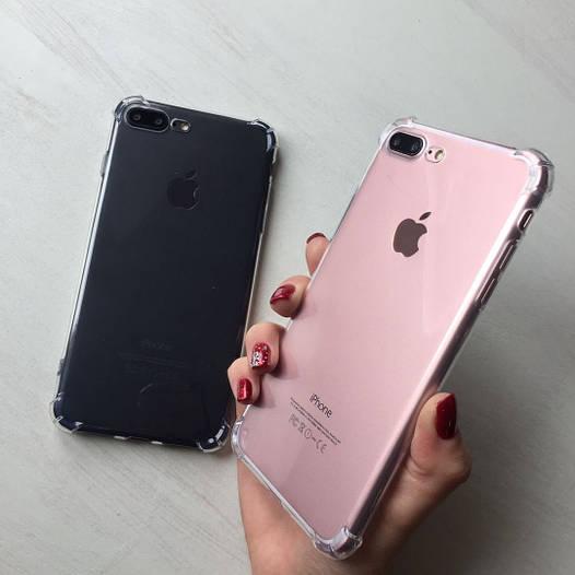 Силиконовый чехол с утолщением для iphone 7 Plus