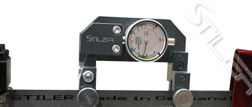 Тензометр измерения натяжения ленточной пилы