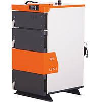 Твердотопливный котел  TIS UNI 25 (250 кв,м,) с автоматикой