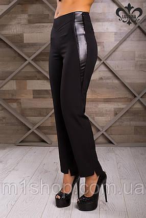 Черные женские брюки   Флави lzn, фото 2