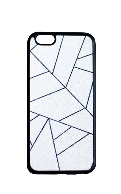 """Cиликоновый чехол """"Оригами"""" для IPhone 5/5s/SE"""