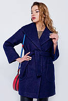 Пальто-пиджак «Эйми» темно-синее