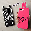 Силиконовые животные Marc Jacobs для iPhone 7 Plus, фото 4