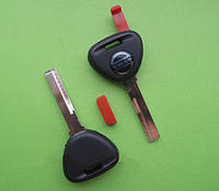 Volvo - заготовка ключа под чип, HU56