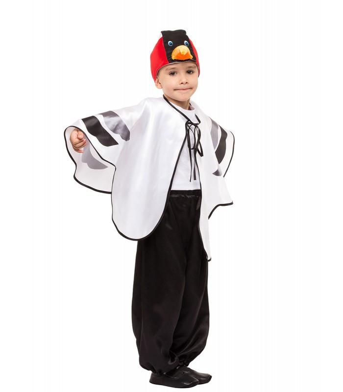 Карнавальный костюм Журавля весенний на праздник Весны (4-10 лет)