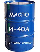 Масло індустріальне І-40А (світле,ГОСТ) 200л