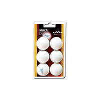 Enebe 6 BALLS NB MATCH WHITE 40MM