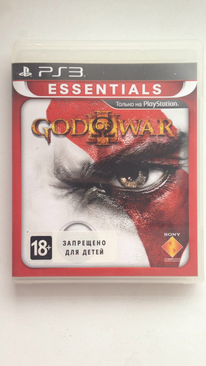 Видео игра God of War 3 (PS3) pyc.