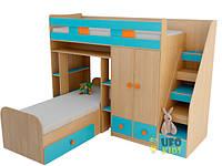 Детская кровать ДМ-35