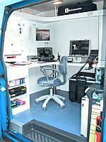 Передвижная лаборатория оптико-волоконных линий связи