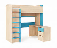 Кровать - чердак (стол, полка, лесенка, спальное место)