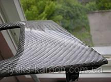 6D карбон темно-серый с микро каналами 1,52 м