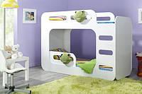 Кровать двухъярусная 127