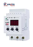 Реле контроля напряжения РН-106, 63А, 220В, с температурной защитой