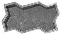 Фигурные форми для тротуарной плитки, Змейка (гладкая, шагрень)