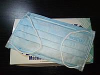 Медицинские маски голубые Meditex