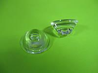 Линза для светодиодов и фитоламп LED 1W, 120` градусов, d=20mm