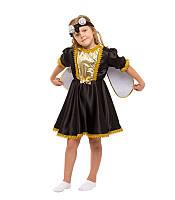 Карнавальный костюм Мухи Цокотухи для девочки весенний на праздник Весны (3-8 лет)
