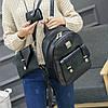 Элегантный женский рюкзак с клатчем , фото 4
