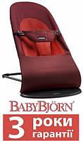 Детское тканевое кресло BabyBjorn Balance Soft Cotton, фото 1
