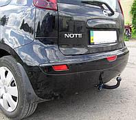 Фаркоп на Nissan Note (2006-2013) Ниссан Ноте