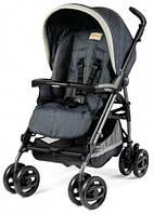 Детская прогулочная коляска Peg-Perego Pliko P3 Compact Classico  Blue Denim
