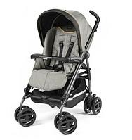Детская прогулочная коляска Peg-Perego Pliko P3 Compact Classico  Luxe Grey