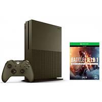 Стационарная игровая приставка Microsoft Xbox One S 1TB + Battlefield 1