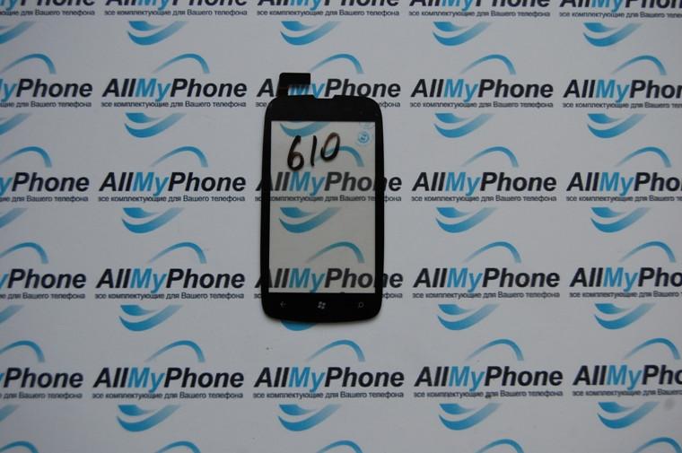 Сенсорный экран для Nokia 610 Black