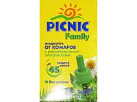 Жидкость для фумигатора (45 ночей/Растительные экстракты/Picnic)