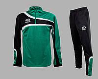 Костюм тренировочный Europaw TeamLine зелено-черный [XS]