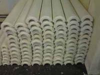 Скорлупа ППУ d=18 мм толщина 30 мм без покрытия
