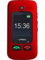 Мобильный телефон Sigma mobile Comfort 50 Shell Dual Sim Black-Red