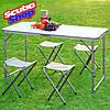 Как выбрать раскладной стол для пикника?