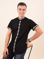 Мужская вышиванка (стойка)