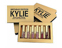 Набор матовых жидких помад  Кайли Kylie Birthday Edition 6 штук