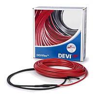 Двухжильный греющий кабель DEVIflex 18T, 15 метров