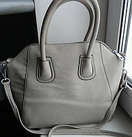 Женская сумка в стиле Givenchy серая