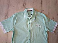 Детская летняя рубашка для мальчика 11052 Турция