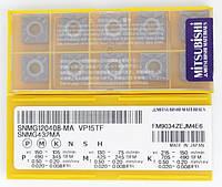 Твердосплавные пластины сменные для резцов SNMG120408-MA VP15TF MITSUBISHI