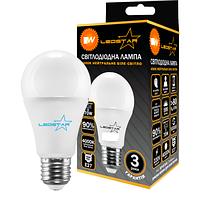 Светодиодная лампа LEDSTAR, 8W, 4000К, нейтрального свечения, цоколь - Е27, 2 года гарантии!!