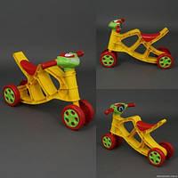 Мотоцикл минибайк для катання детей со звуком 55см х 45см х 31см артикул 0137/03