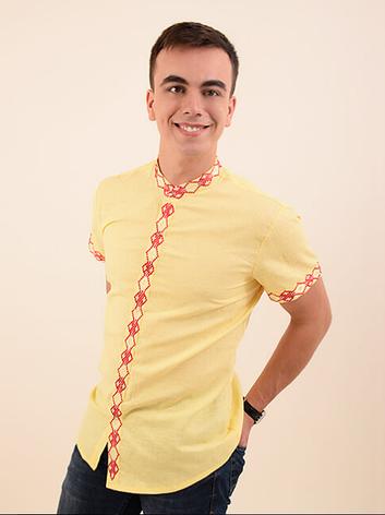 Мужская вышиванка (стойка), фото 2