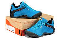 Женские демисезонные ботинки Merrell  Low blue