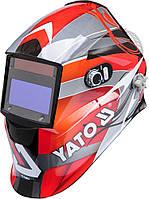 Маска защитная сварщика с саморегулирующимся фильтром YATO YT-73921.