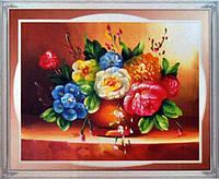 "Картина со стразами 5D ""Летний букет"" Размер: 88*71 см Код 198419"