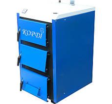 Корди АОТВ -26-30 Е твердотопливный котел 30 кВт + автоматика почти ДАРОМ, фото 3