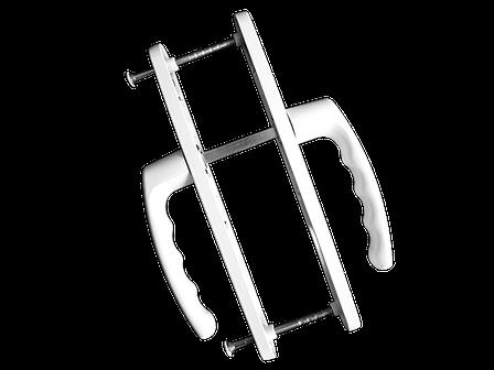 Нажимной гарнитур Vorne 25/92/200 (белый), фото 2