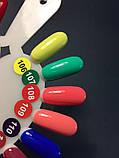 Гель-лак Nice for you № 106 (лимонная глазурь) 8.5 мл, фото 3