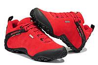 Женские демисезонные ботинки Merrell  Low красные